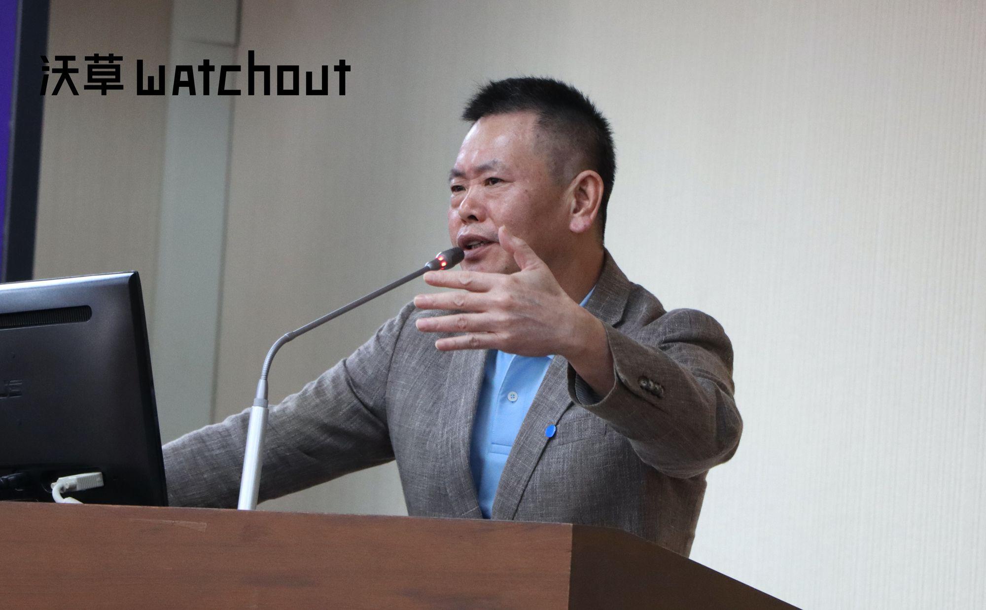 中國國民黨立委林為洲(攝影/廖昱涵)